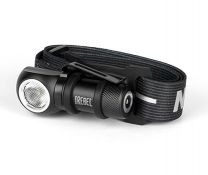 REBEL Headlamp - The REBEL is a fully rechargeable task light that includes an adjustable head strap for use as a head lamp. Small enough to fit in the palm of your hand, this powerful light rebels against its size with its impressive 600 lumen output. This bright light is also equipped with a rotating, removable steel clip and powerful magnetic base to provide even more hands-free lighting options.