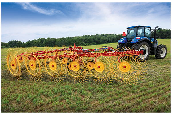 New Holland | ProCart and ProCart Plus Deluxe Carted Wheel Rakes | Model 1225 12-Wheel