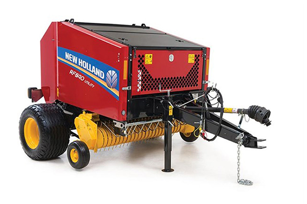 New Holland | RF Fixed Chamber Round Baler | Model RF450 Utility
