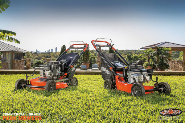 "Bad Boy Mowers | Commercial Grade Push Mowers | Model 179cc Kawasaki® FJ180 21"" Deck"