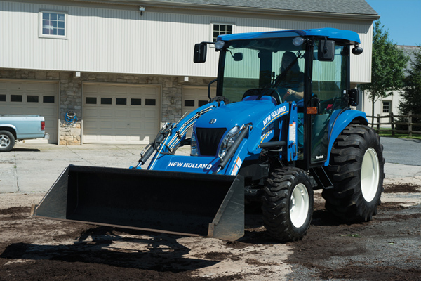 New Holland | Deluxe Compact Loaders | Model 260TLA
