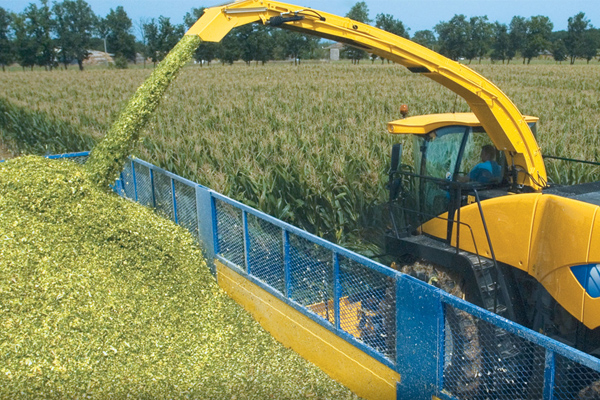 New Holland Forage Harvester Yield Mapping
