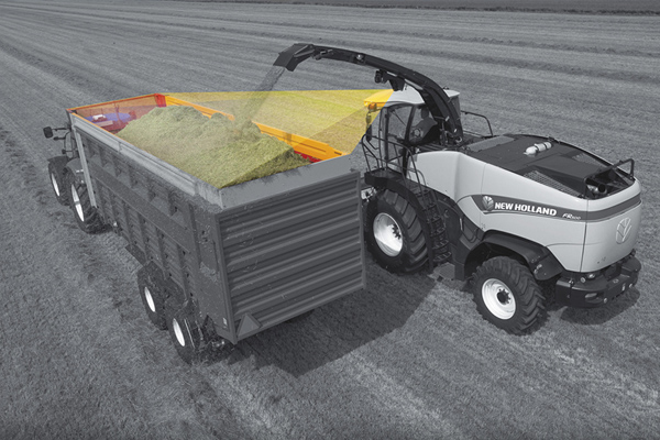 New Holland | Harvest Solutions | Model IntelliFill™ System