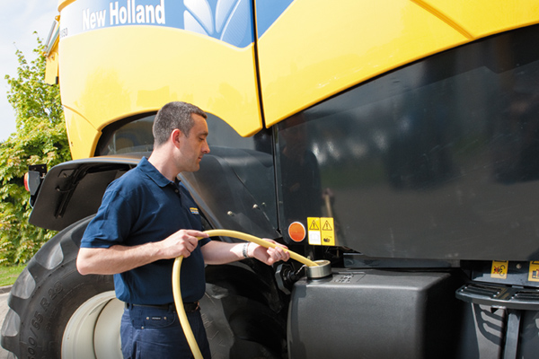 New Holland Precise Additive Application
