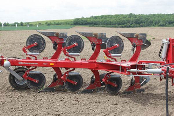 Kongskilde | FULLY MOUNTED REVERSIBLE PLOUGH | Model KONGSKILDE FMRT