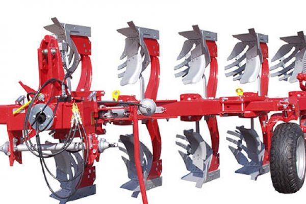 Kongskilde | FULLY MOUNTED REVERSIBLE PLOUGH | Model KONGSKILDE HRS/HRT