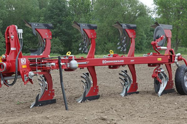 Kongskilde | FULLY MOUNTED REVERSIBLE PLOUGH | Model KONGSKILDE MRS/MRT