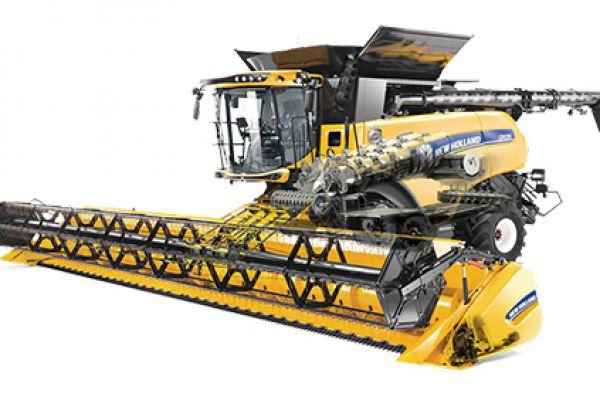 New Holland | CR Series – Tier 4B Twin Rotor® Combines | Model CR10.90 Elevation