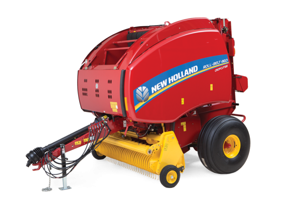 New Holland | Roll-Belt Round Balers | Model Roll-Belt 460
