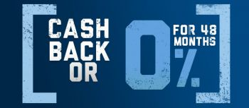 promotion nar cashback or 0 for 48