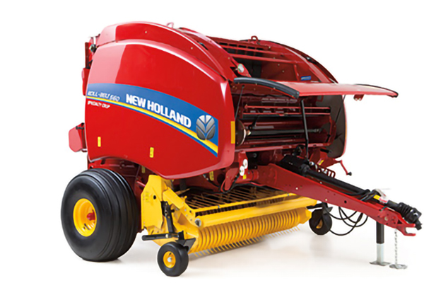 New Holland | Roll-Belt Round Balers | Model Roll-Belt 550